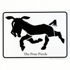 The Pony Puzzle - Postcard -