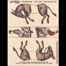 Famous Trick Donkeys - Small -