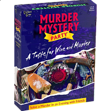 Murder Mystery Party - A Taste for Wine and Murder -