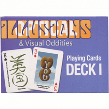 Optical Illusions & Visual Oddities Playing Cards - Deck I -