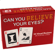 Can You Believe Your Eyes Playing Cards - Card Games
