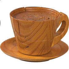 Tea Cup - 3D Wooden Jigsaw Puzzle - Wood Puzzles