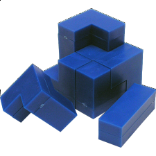 Cube Puzzle - Impuzzables : Blue