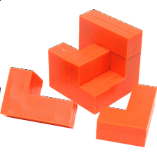 Cube Puzzle - Impuzzables: Orange