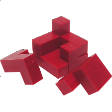 Cube Puzzle - Impuzzables: Red