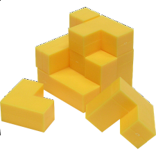 Cube Puzzle - Impuzzables: Yellow