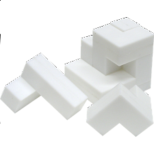 Cube Puzzle - Impuzzables: White