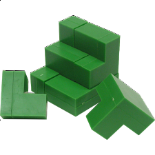 Cube Puzzle - Impuzzables: Green