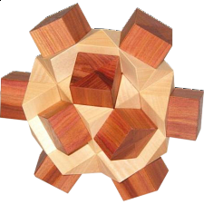Cross in Circle - European Wood Puzzles