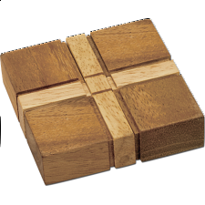 The Cross Puzzle - Other Wood Puzzles