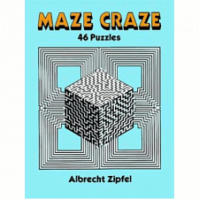 Maze Craze: 46 Puzzles - book - Puzzle Books