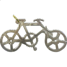 Cast Bike - Wire & Metal Puzzles