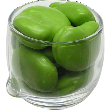 Glass Puzzle - The Broad Beans - Glass Puzzles
