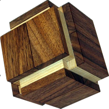 Double Desk Box - Wood Puzzles