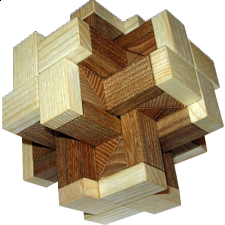 Hex Cross - Wood Puzzles