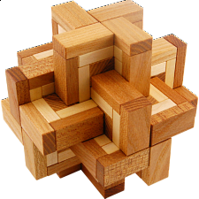 Viper Cross - European Wood Puzzles