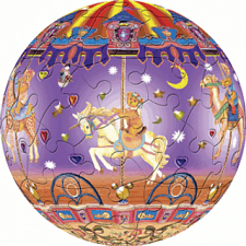 Merry Go Round: 3 inch - Jigsaws