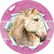 Horse - Girl: 3 inch - Jigsaws