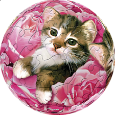 Bed of Roses - Kitten: 3 inch - Sphere
