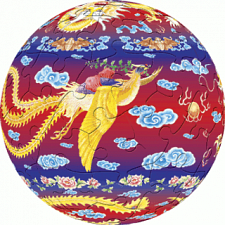 The Dragon and The Phoenix: 3 inch - Jigsaws