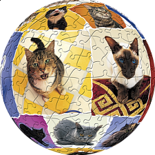 Cat World: 6 inch - Sphere