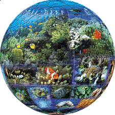 Tropical Seas: 6 inch - Sphere