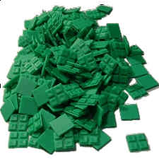 Livecube - Green Finish Panels - Misc Puzzles
