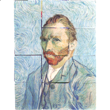Mozaniac - Van Gogh Self-Portraits - Other Misc Puzzles