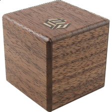 Karakuri - Small Box #1 Walnut - Japanese Puzzle Boxes