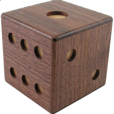 Die - Japanese Puzzle Box - Wood Puzzles