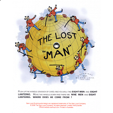 "The Lost ""Man"" - Paper Puzzles"