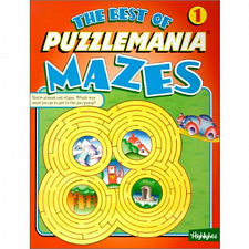 The Best of Puzzlemania Mazes Volume 1 - book - Mazes