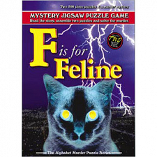 F is for Feline - 500-999 Pieces