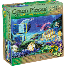 Green Pieces - Crude Awakening - jigsaw puzzle