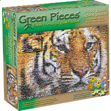 Green Pieces - Tiger in your Tank - jigsaw puzzle