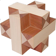 Plus Cross - Wood Puzzles