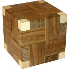 Explosion Cube - European Wood Puzzles