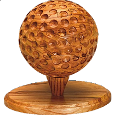 Golf Ball - 3D Wooden Jigsaw Puzzle - 3D Wooden Puzzles