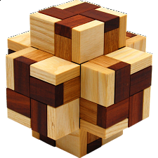 Cross Box - Wood Puzzles