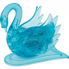 Blue Swan - 3D Jigsaw Puzzle - Clearly Puzzled