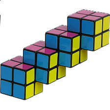 Quadruple 2x2 Cube