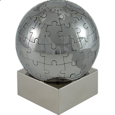 Magnetic Puzzle Globe -