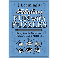 Fabulous Fun with Puzzles - book - Brain Teaser