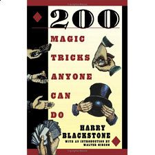 200 Magic Tricks Anyone Can Do - book - Puzzle Books