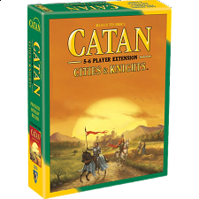 Catan: Cities and Knights - 5-6 Player Extension (5th Edition) - Strategy Games