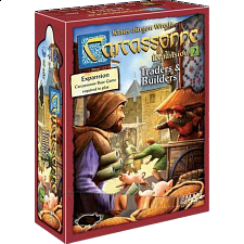 Carcassonne Expansion: Traders and Builders -