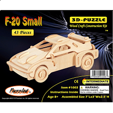 F-20 Car - 3D Wooden Puzzle - Search Results
