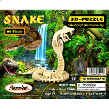 Snake - 3D Wooden Puzzle