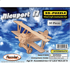 Nieuport 17 Biplane - 3D Wooden Puzzle - Search Results