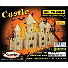 Castle - 3D Wooden Puzzle - Search Results